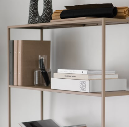 Design of storage shelf