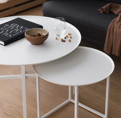 Design of table round square