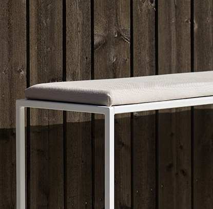 design of outdoor bench