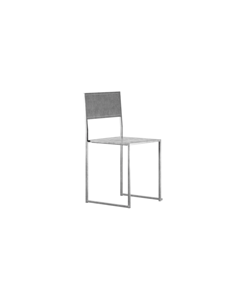 Design Of Chair Galvanised DOJH-ST2U-VFZ