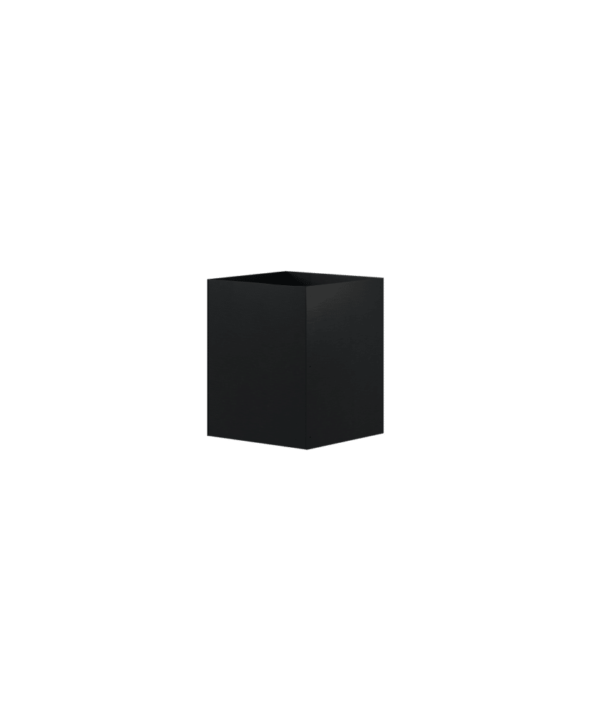 Design Of Pot Square Black DOJH-404050-S