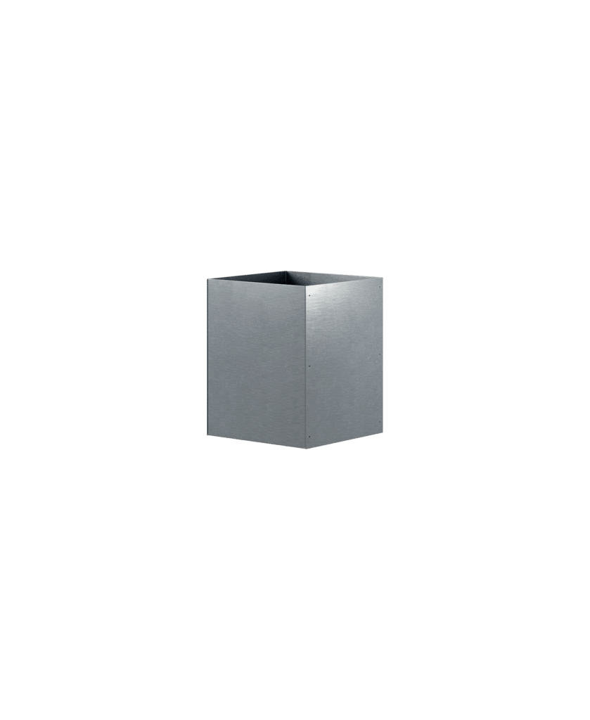 Design Of Pot Square Galvanized DOJH-404050-VFZ